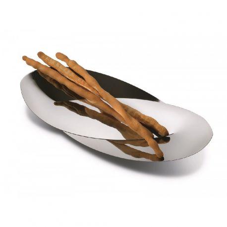 ALESSI - Octave Corbeille à pain Inox 18/10 Design Abi Alice