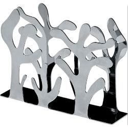 Mediterraneo Porte-serviettes en papier vertical Alessi inox