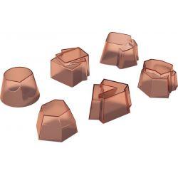 Il tempo della festa Set de 6 moules en silicone Alessi