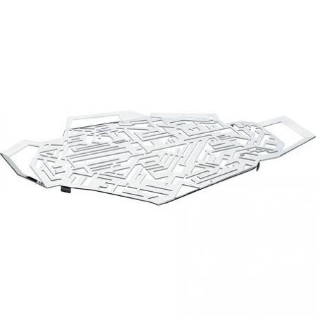 Hellraiser plateau Alessi Inox 18/10 design Karim Rashid