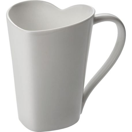 To mug coeur Alessi porcelaine bone china design Miriam Mirri