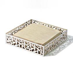ALESSI - Cactus Porte-serviettes en papier ou Corbeille carrée