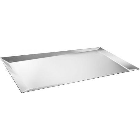 Alice Plateau Alessi acier inox 18/10 design Odile Decq