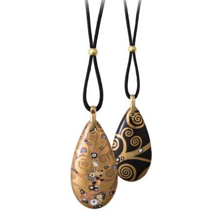 "Pendentif ""L'Arbre de Vie"" de Klimt"