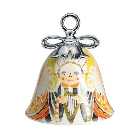 Holy Family Ange Boule de Noël Cloche Porcelaine