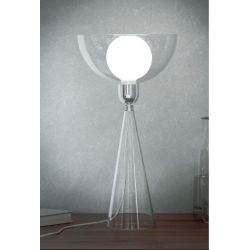 Lady Shy Alessi Lampe LED à poser design G Alessi et G Chiave