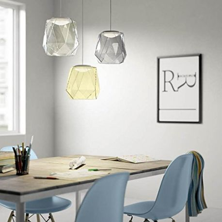 Italo MyLiving Suspension en verre design LED intégré