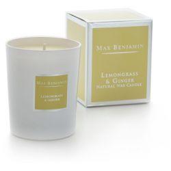 Max Benjamin bougie parfumée naturelle Citronnelle & gingembre