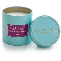 Max Benjamin bougie parfumée Thé lavande et fleur de citronnier