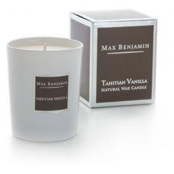 Max Benjamin bougie parfumée naturelle 40h Vanille tahitienne