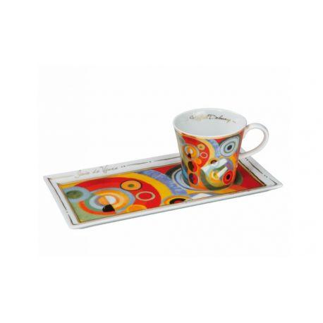 Art & Café - Tasse «Joie de vivre » R. Delaunay Édition Limitée