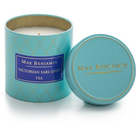 Max Benjamin bougie parfumée Victorian Earl Grey, naturelle 35 h