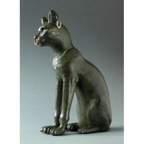 Bastet ou le chat de Gayer Anderson - Statue 30 cm résine