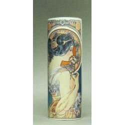Primrose & Feather d Alphonse Mucha - Vase 18cm - Parastone