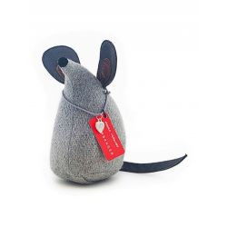 Chip la souris Monica Richards Bloque porte XL en feutre gris