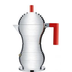 ALESSI - Pulcina Cafetière Espresso 6 tasses Induction