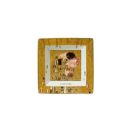 Le Baiser de Klimt - Vide poche Porcelaine 14,5 cm - Artis Orbis