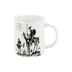 Don Quichotte de Picasso, mug en porcelaine Könitz
