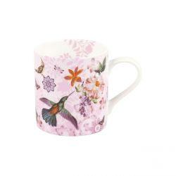 Colorful Flowers, mug en porcelaine Könitz décorée, 38,5 cl