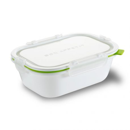 Lunch box rectangle étanche et micro-ondable 1005ml - Black+Blum