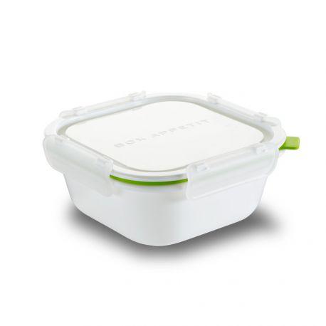 Lunch box carré étanche et micro-ondable 930 ml