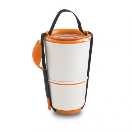 Lunch Pot - Lunch box 2 pots étanches micro-ondables - Black+Blum