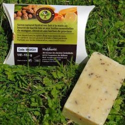 Savon Mangue Citron herbes de Provence Karité bio Madjikarité