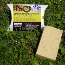 Savon au Karité bio à l huile essentielle de lavande Madjikarité