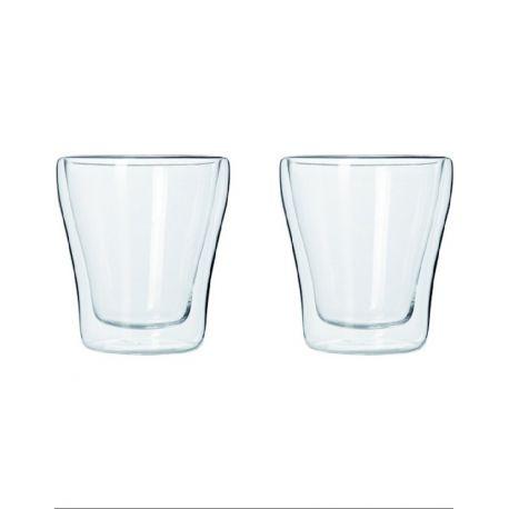 Duo set 2 verres double paroi
