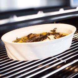250°C Plus Asa Selection Plat à gratin ovale en porcelaine