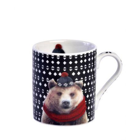 L ours brun Robeo de Laissez Lucie Faire, Mini mug en porcelaine