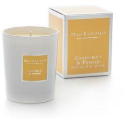 Max Benjamin bougie parfumée naturelle 40h Pamplemousse & pomelo