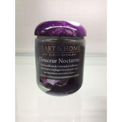 Bougie cire de soja parfumée Douceur Nocturne Heart & Home