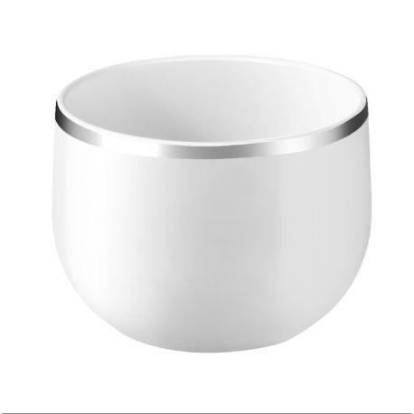 Yaka Argentic - 6 tasses espresso Porcelaine - Médard de Noblat