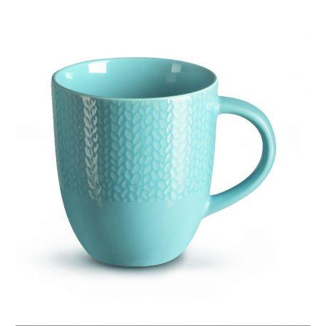 Grain de Malice turquoise - Boîte de 6 Mugs - Médard de Noblat