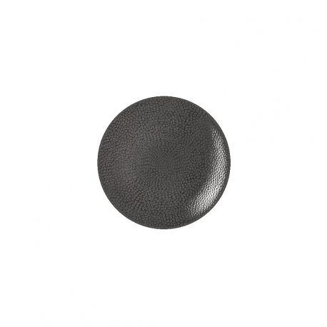 Stone gris - Service 6 assiettes en grès - Médard de Noblat