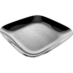 ALESSI - Dressed Plateau carré Inox Design Marcel Wanders
