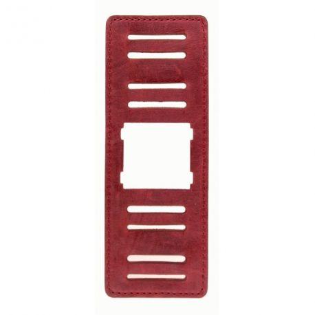 Stamps - Bracelet large - Rouge