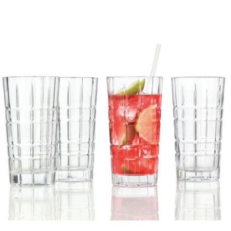 Spiritii Coffret 4 verres long drink 40 cl