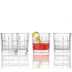 Spiritii Leonardo Coffret 4 verres à whisky 25 ou 36 cl