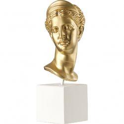 Tête d Artemis Sculpture 38,5x17,5x14,5cm - Sophia
