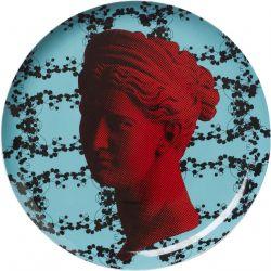 Artemis flowers, Assiette murale décorative 30 cm en porcelaine