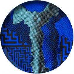Nike Victoire de Samothrace, Assiette murale décorative 30 cm
