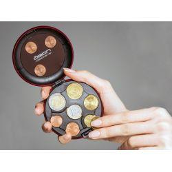 ÖGON - Porte-monnaie aluminium avec trieur de pièces, jusqu à 20euros