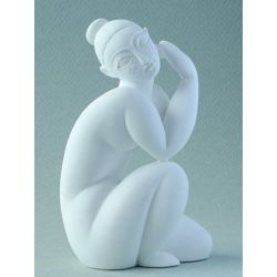 Nu féminin assis Modigliani miniature - Pocket Art