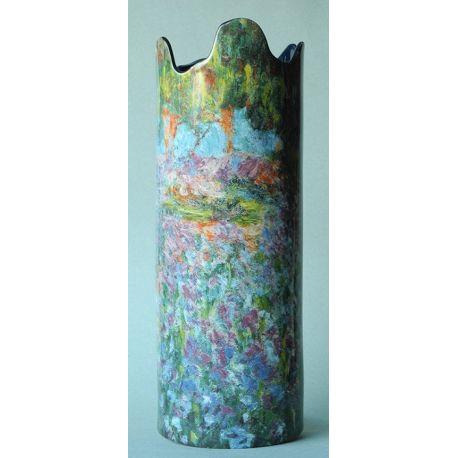 Jardin des Iris de Monet - Vase en céramique 25 cm