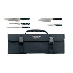 Pluton - Lion Sabatier mallette 5 couteaux professionnels