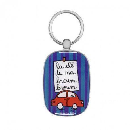 Les clés de ma Broum Broum - Porte-clés Filf