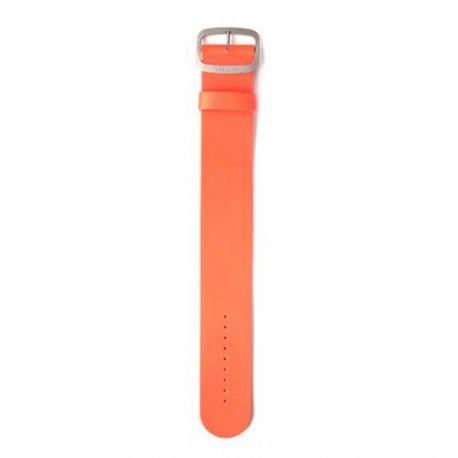 Bracelet cuir orange