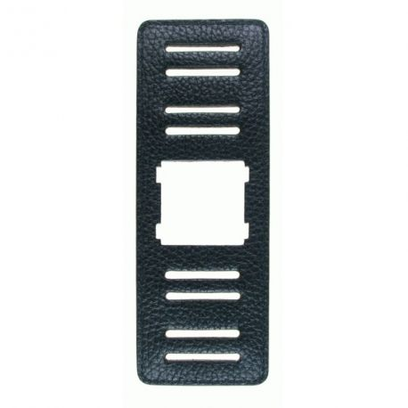 Stamps - Bracelet large - Noir Structure